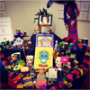 Day of the Dead Altar at Central Library.