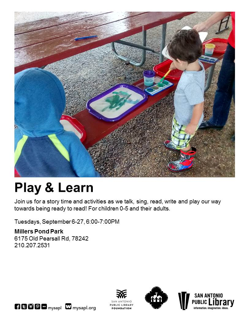 Play & Learn at Miller's Pond Park