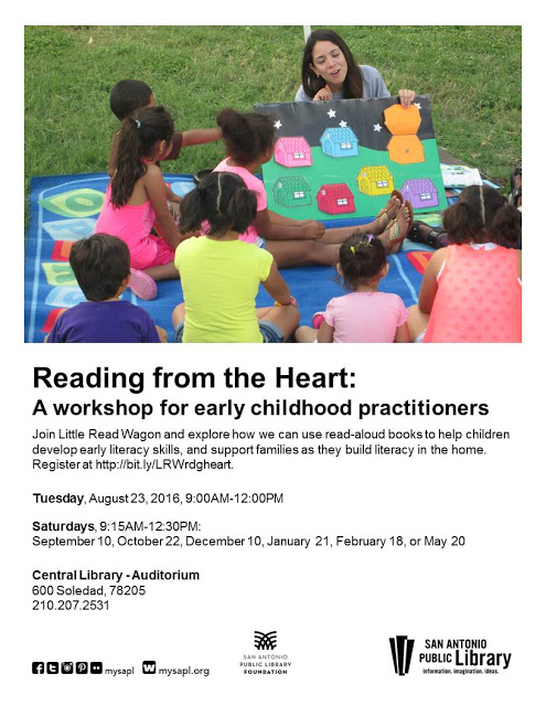 Reading from the Heart workshop.