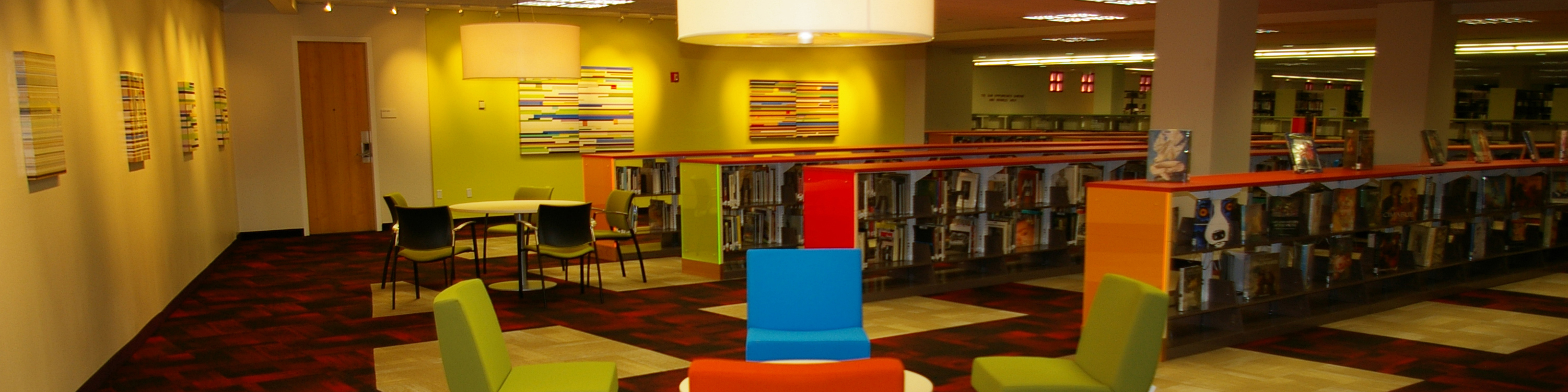 Art Library - Marie Swartz Art Resource Center